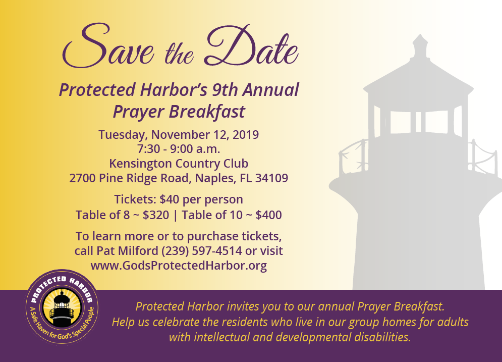 Protected Harbor's 9th Annual Prayer Breakfast